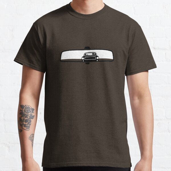 Bullitt Mustang in rear view mirror Classic T-Shirt