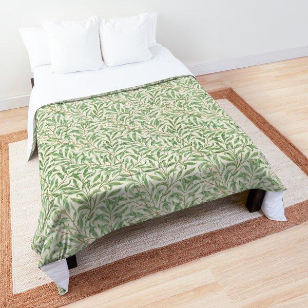 William Morris Pattern - Flowers & Leaves Comforter