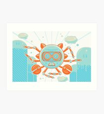 Siva Crab Art Print
