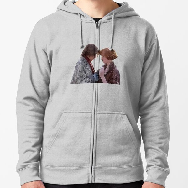 Bender and Claire  Zipped Hoodie