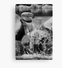 Small Scale Waterfall Canvas Print