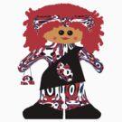 Fashion Diva Rag Doll by Deborah Lazarus
