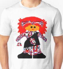Fashion Diva Rag Doll Unisex T-Shirt
