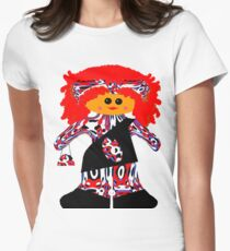 Fashion Diva Rag Doll Women's Fitted T-Shirt