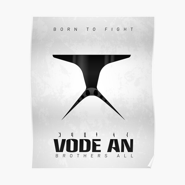 Phase I Clone — Vode An (Brothers All) Poster