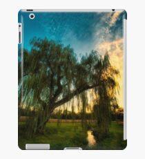Weeping Willow Tree Sunset iPad Case/Skin