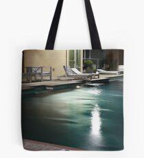 Terrazzo Nashville - Pool Deck at Nightfall  Tote Bag