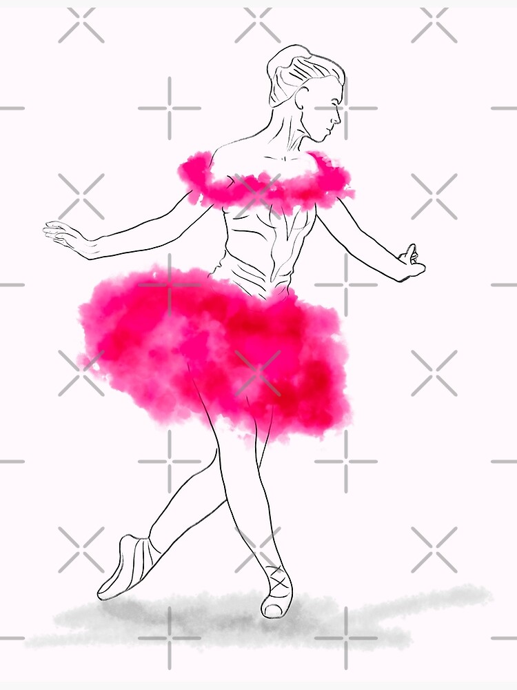 Pink Ballerina illustration by nobelbunt