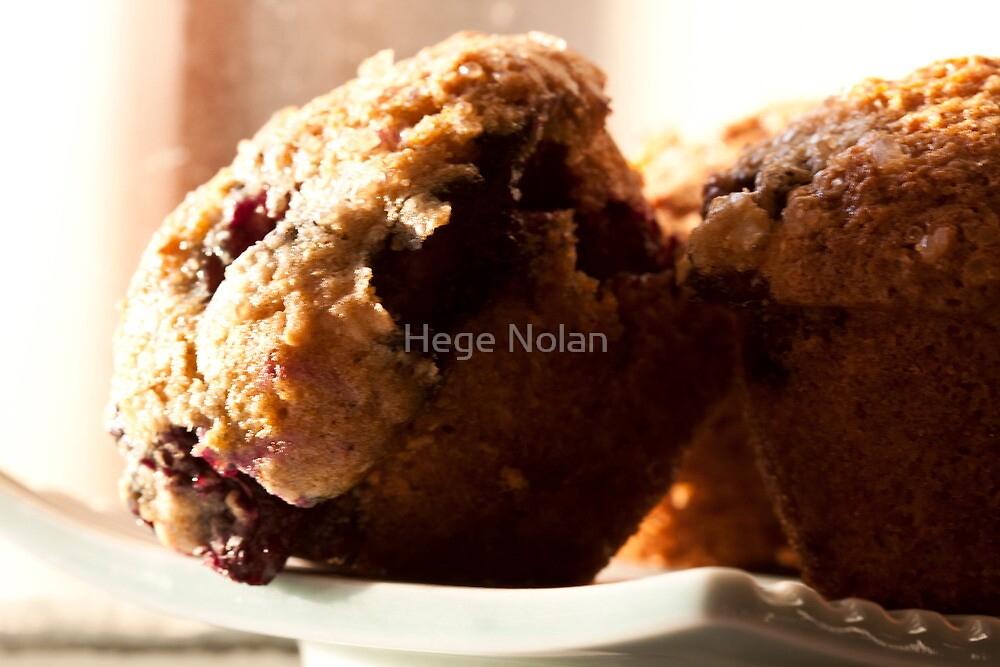 Muffin's wrong with blueberries by Hege Nolan