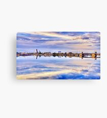 Once Upon A Busy Port Canvas Print