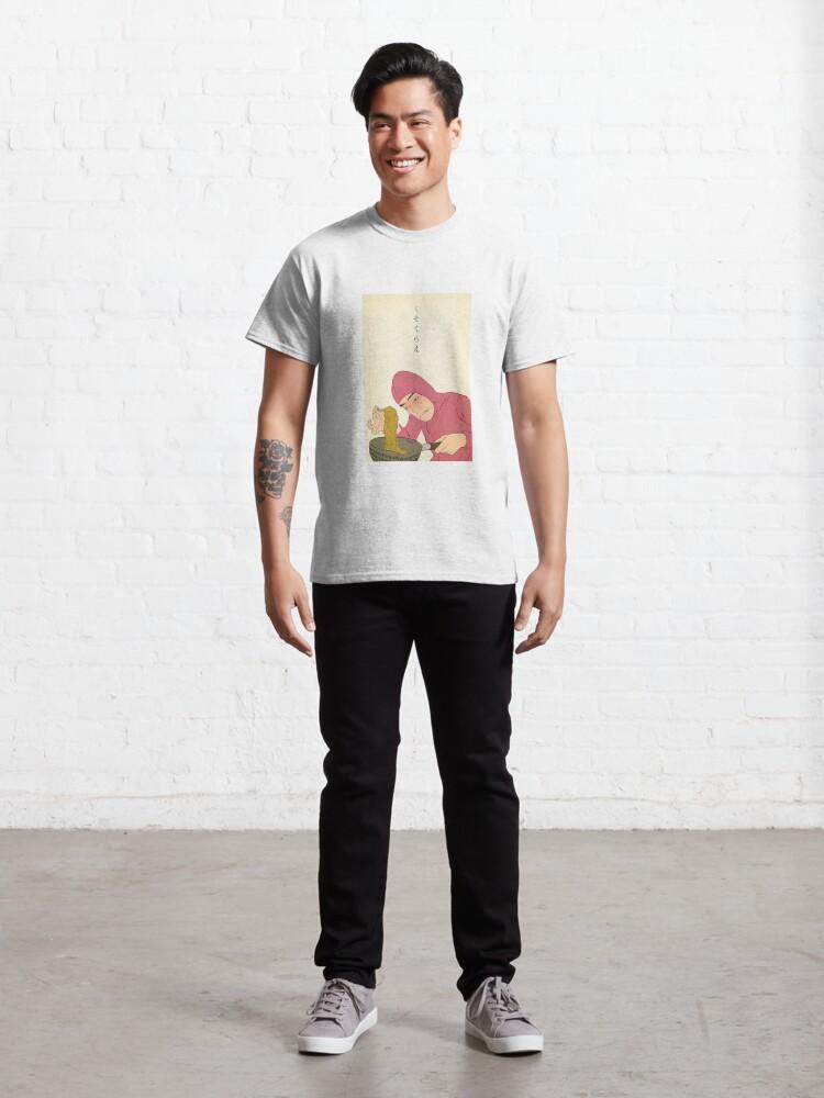 Alternate view of Pink Guy cooks Ramen Classic T-Shirt
