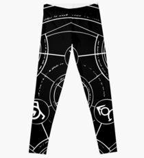 Black Alchemy Circle Leggings