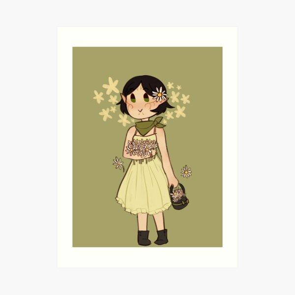 FLOWER MERRILL Art Print