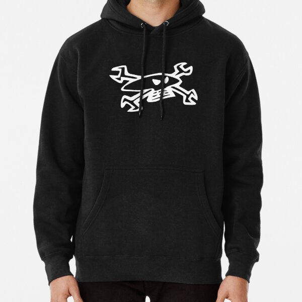 Guy Martin Skull Logo Pullover Hoodie