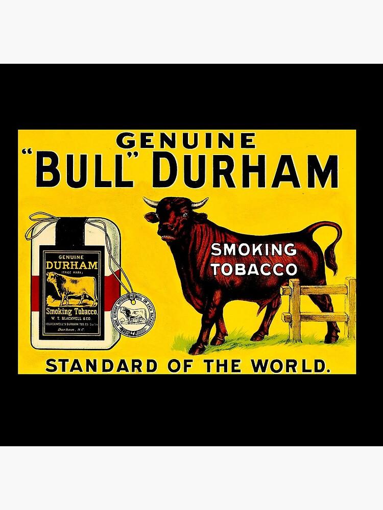 BULL DURHAM: Vintage Smoking Tobacco Advertising Print by posterbobs