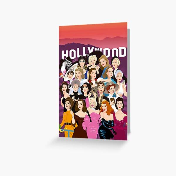 My Hollywood Greeting Card