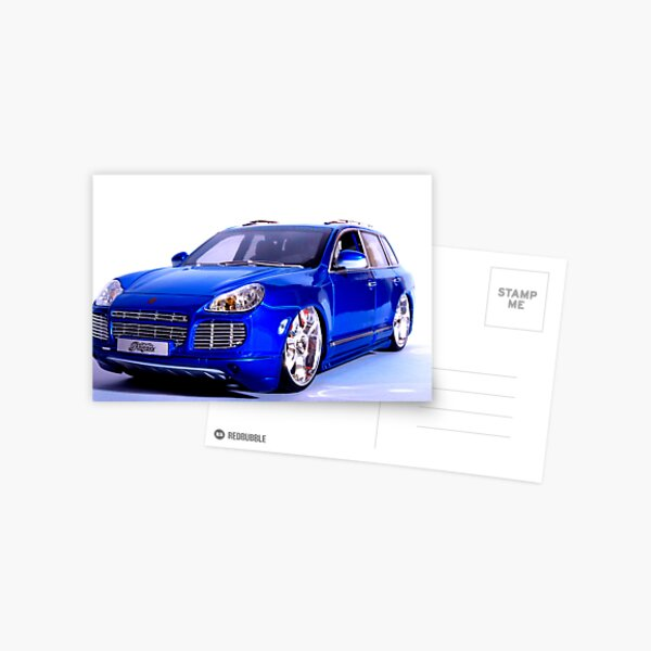 Porsche Cayenne Postcard