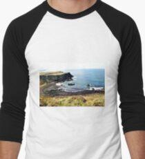 Volcanic Beach Men's Baseball ¾ T-Shirt