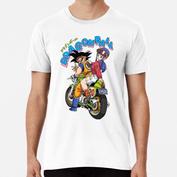 Dragon Ball - Bulma y Gohan Bike Camiseta premium