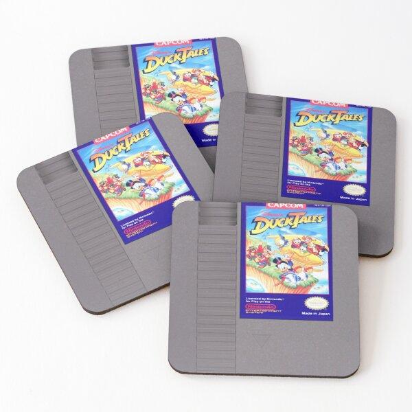 NES ducktales Coasters (Set of 4)
