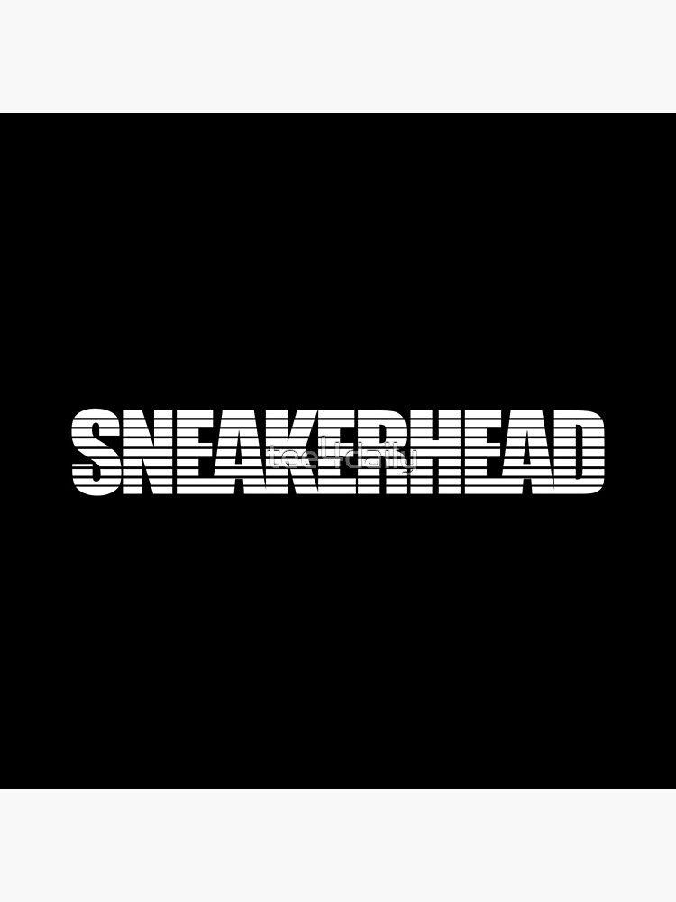 Sneakerhead Stripes White by tee4daily