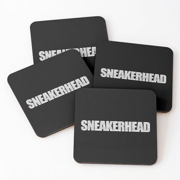 Sneakerhead Stripes White Coasters (Set of 4)