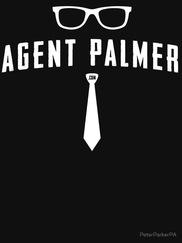 Agent Palmer (White Variant) by PeterParkerPA