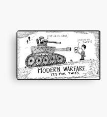Words of War Canvas Print