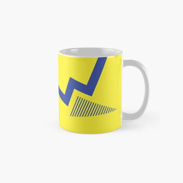 Everton Retro 1990 - 1992 Yellow Blue Away Classic Mug