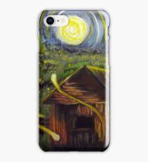 The Barn in Firefly Field iPhone Case/Skin