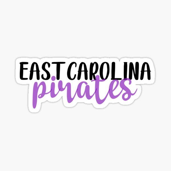 ECU Pirates Sticker