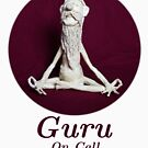 Guru On Call - Sculpture In Masking Tape by Don White