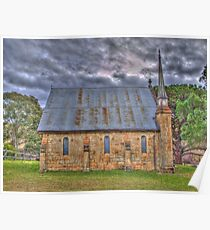 Byng Church- Side On Poster