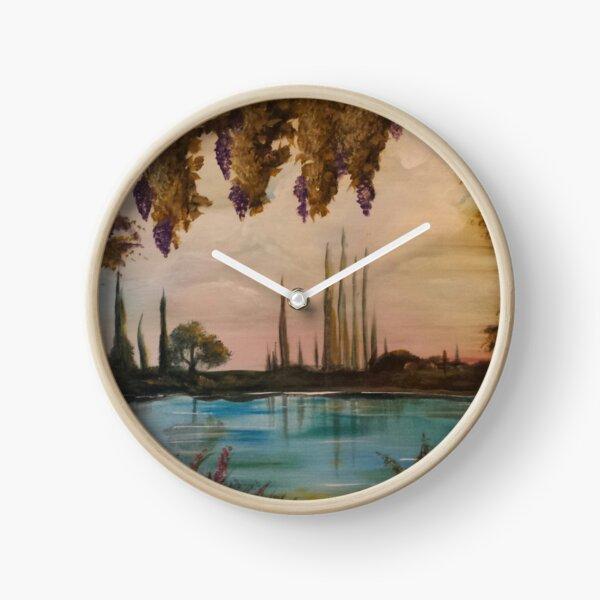 Italian Scenery Clock