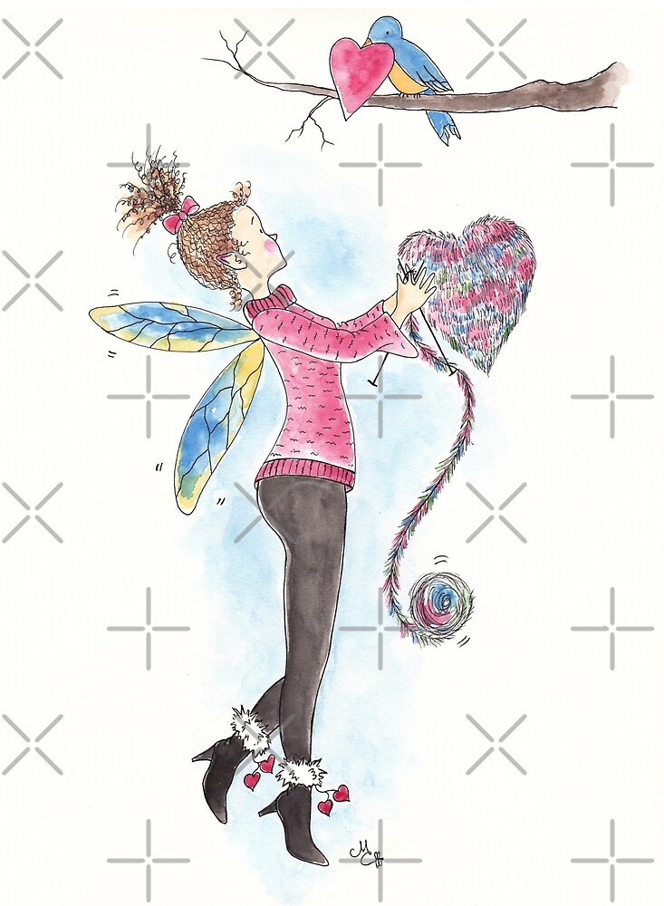 Happy Valentine's Day, Thank You, or Anytime - The Knittington Fairies Series by LeisureLane1