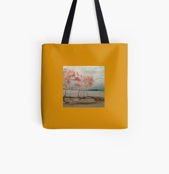 Autumn Thunderstorm  All Over Print Tote Bag