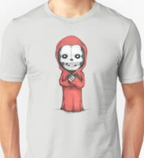 Crimson Ghost Plush Unisex T-Shirt