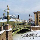 Bridges of Petersburg by YURYBASHKIN