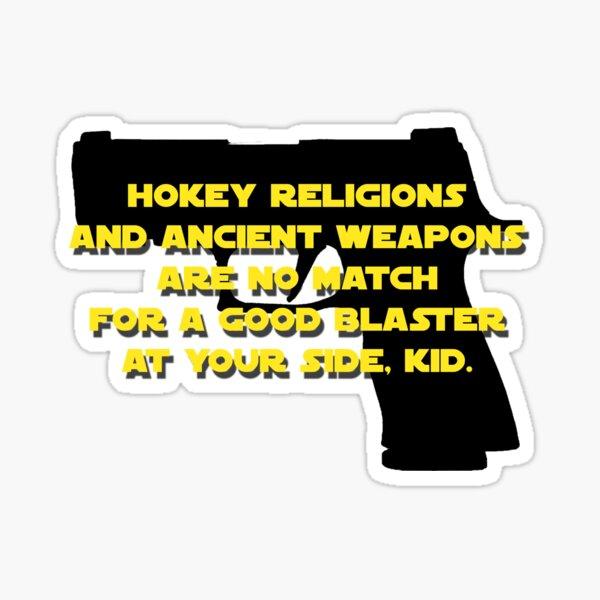 SIG P320 X-Carry Hokey Religions Sticker
