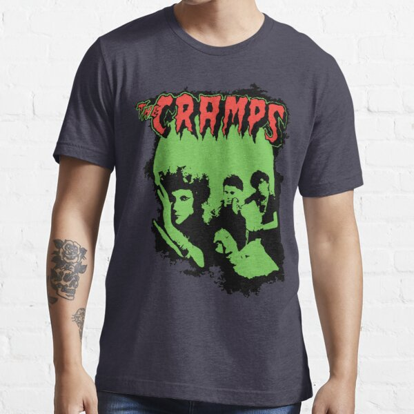 Cramps Band Can Your Pussy Do The Dog Retro Vintage Distressed T-shirt essentiel