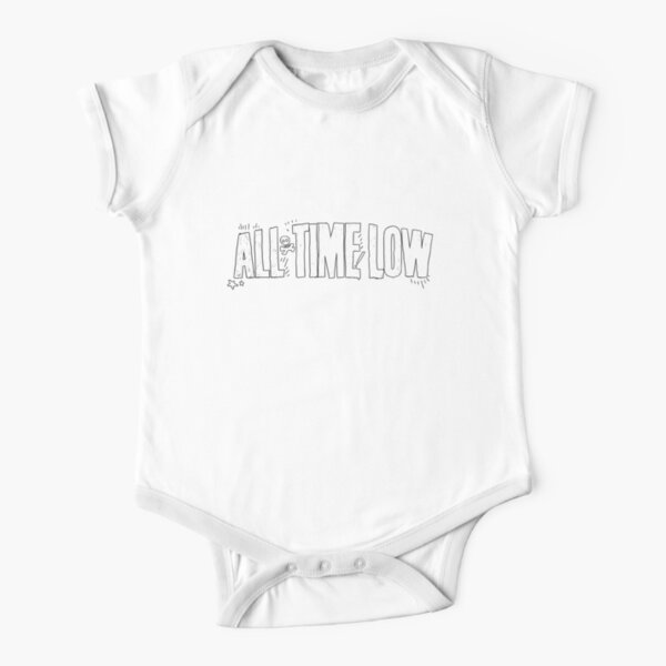 All Time Low Logo Short Sleeve Baby One-Piece
