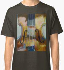Violin Painting Classic T-Shirt