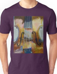 Violin Painting Unisex T-Shirt