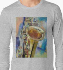 Saxophone Long Sleeve T-Shirt