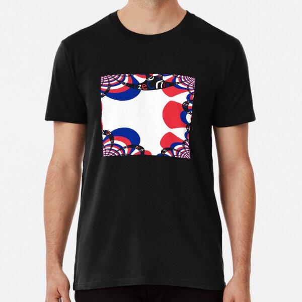 STUFF4 Men/'s White Round Neck T-Shirt//Macedonia//Macedonian Flag Splat//SZ