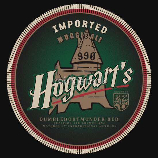 TShirtGifter presents: Hogwart's Muggle Red Ale