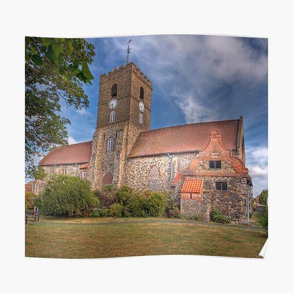St Peter's Church,Sandwich,Kent Poster