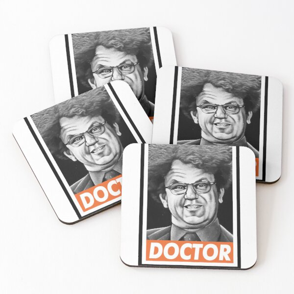 Doctor Brule Coasters (Set of 4)