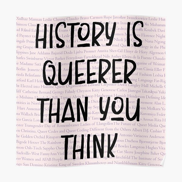 History Is Queerer Than You Think Poster
