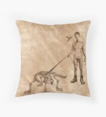Stan & Olive Throw Pillow